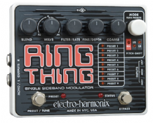 Electro Harmonix Ring Thing Modulator Guitar Pedal